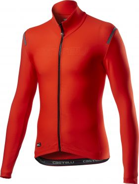 Castelli tutto nano RoS jersey long sleeves red men