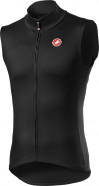 Castelli Pro thermal mid cycling vest sleeveless black men
