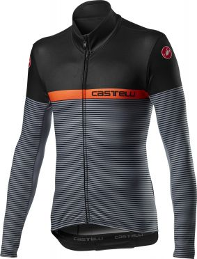 Castelli Marinaio jersey long sleeve black men