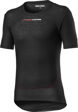 Castelli Prosecco Tech baselayer short sleeve black men
