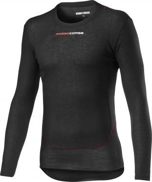 Castelli Prosecco Tech baselayer long sleeve black men