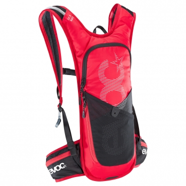 Evoc CC race 3L + 2L bladder backpack red