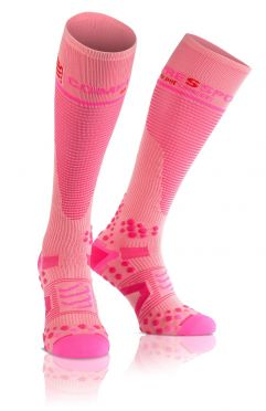 Compressport Fullsocks v2.1 compression socks pink