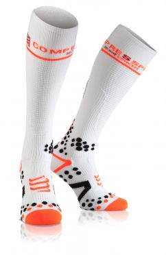 Compressport Fullsocks v2.1 compression socks white