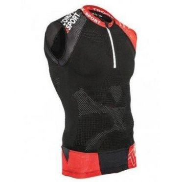 Compressport Trail running shirt v2 tank compression top black