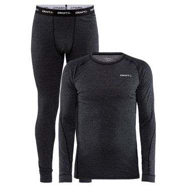 Craft Cool Merino Thermo baselayer set black men