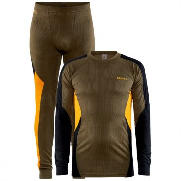 Craft Core Dry Thermo baselayer set green men