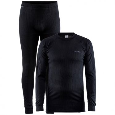 Craft Core Dry Thermo baselayer set black men