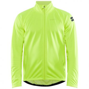 Craft Core Ideal 2.0 cycling jacket yellow men