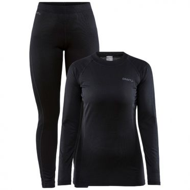Craft Core Warm Thermo baselayer set black men
