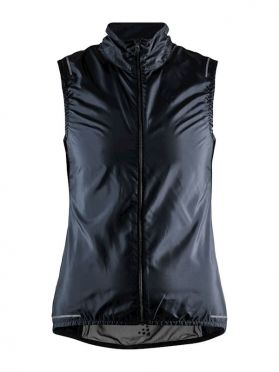 Craft Essence Light Wind cycling vest sleeveless black woman