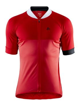 Craft Adopt cycling jersey red men