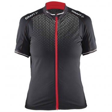 Craft Glow Bike Jersey women black/red