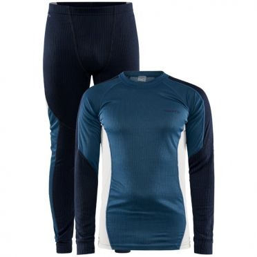 Craft Core Dry Thermo baselayer set blue men