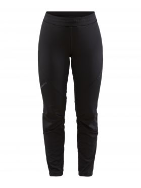 Craft Glide full zip cross country pants black women