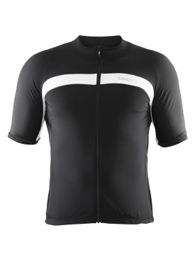 Craft Velo cycle jersey black/white men