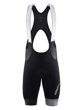Craft Verve Glow bib shorts black/grey men