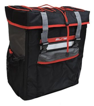 Elite Tri box transition backpack black/red