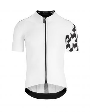 Assos Equipe RS Aero sleeve cycling jersey white men