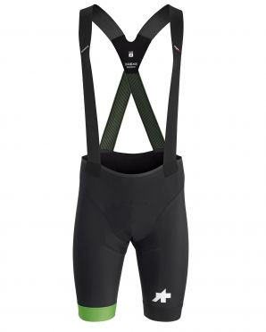 Assos S9 Equipe RS bibshorts black/green men