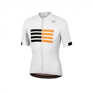 Sportful Wire jersey short sleeves white men
