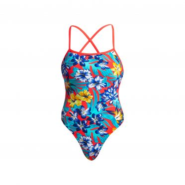 Funkita Aloha from Hawaii Cut away bathing suit women