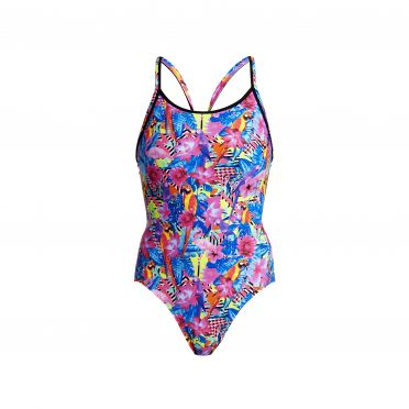 Funkita Club tropo diamond back bathing suit women
