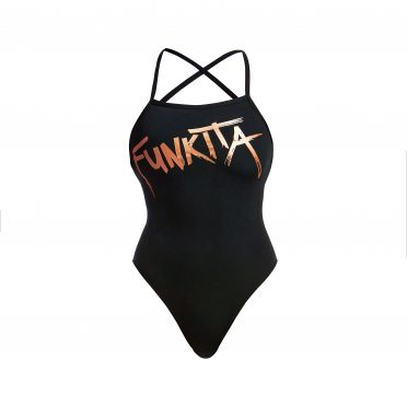 Funkita Bronzed strapped in bathing suit women