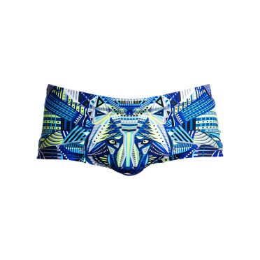 Funky Trunks Sea wolf Plain front trunk swimming men