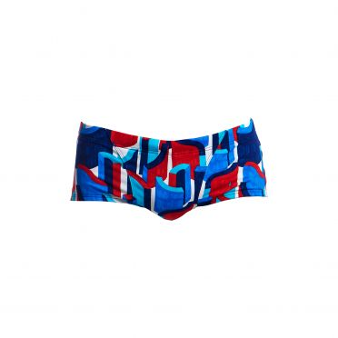 Funky Trunks Block rock Classic trunk swimming men