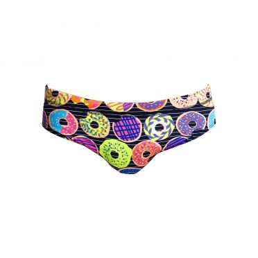 Funky Trunks Dunking donuts Classic brief swimming men