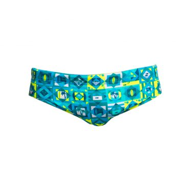 Funky Trunks Lime light Classic brief swimming men