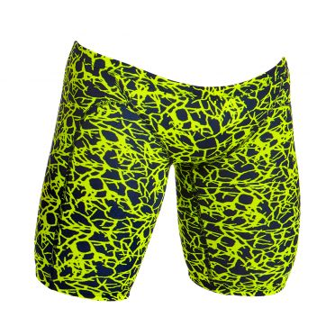 Funky Trunks Coral gold Training jammer swimming men