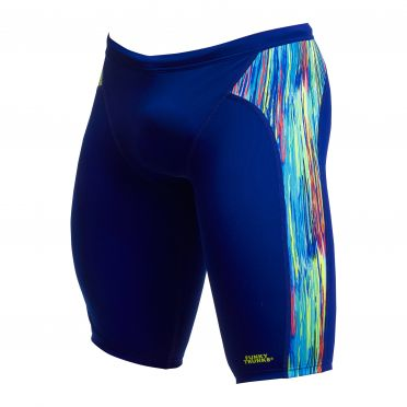 Funky Trunks Dripping Paint training jammer swimming men