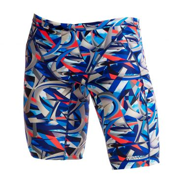 Funky Trunks Futurismo Training jammer swimming