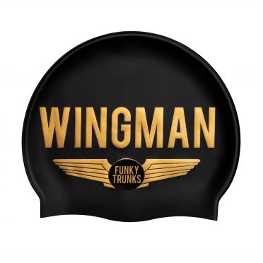 Funky Trunks Silicone swimming cap Wingman