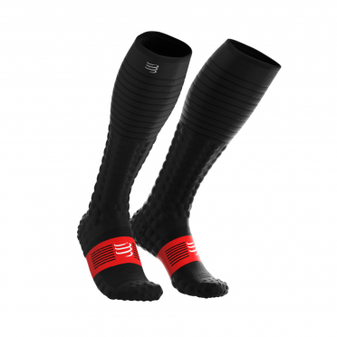 Compressport Full socks race & recovery compression socks black
