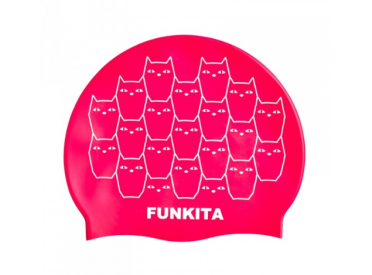Funky Trunks Silicone swimming cap Funkita Kitten Kluster