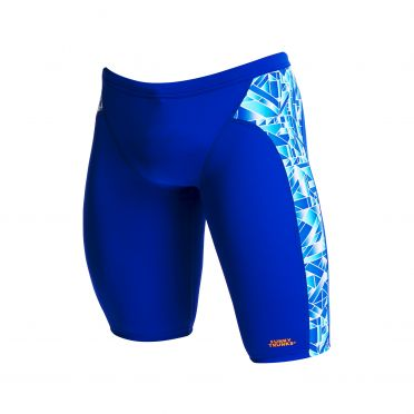 Funky Trunks Pane Train training jammer swimming men