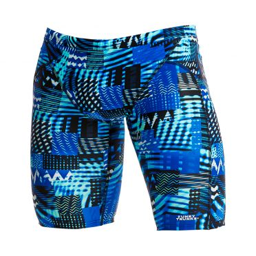 Funky Trunks Electric Nights Training jammer swimming men