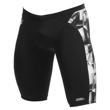Funky Trunks Black Tint training jammer swimming men