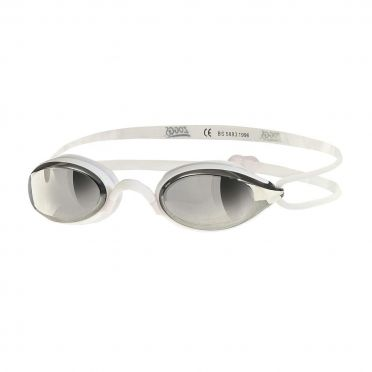 Zoggs Fusion air mirror goggles white
