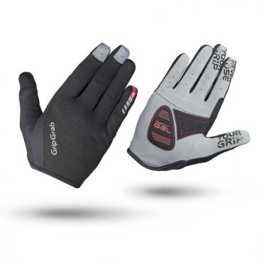 GripGrab Shark cycling gloves black