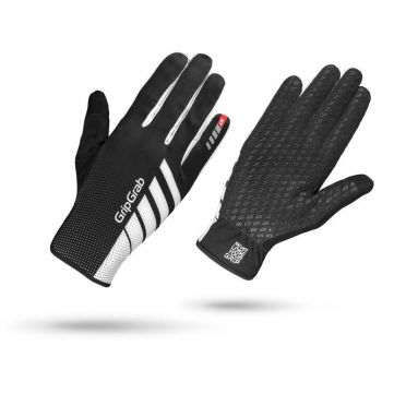 GripGrab Raptor cycling gloves black/white