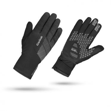 GripGrab Ride waterproof winter cycling gloves black