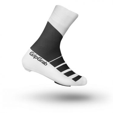 GripGrab RaceAero TT shoe cover black/white