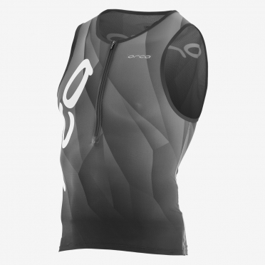 Orca 226 Kompress tri tank top sleeveless black/white men