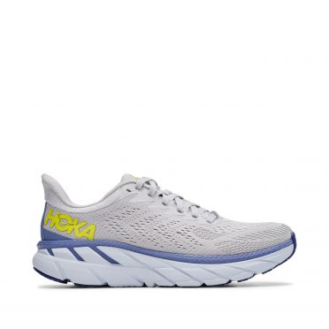 Hoka One One Clifton 7 running shoes white woman