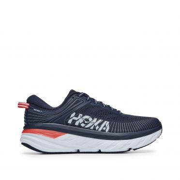 Hoka One One Bondi 7 running shoes dark blue women