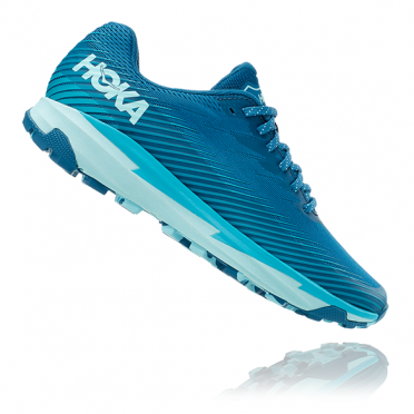 Hoka One One Torrent 2 running shoes light blue woman